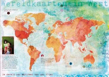 Maak je eigen wereldkaart